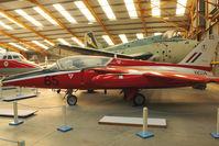 XR534 - At Newark Air Museum in the UK