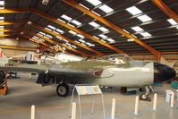WX905 - At Newark Air Museum in the UK