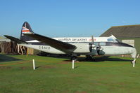 G-ANXB - At Newark Air Museum in the UK