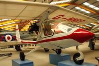 G-MNRT - At Newark Air Museum in the UK