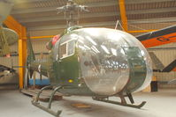 XW276 - At Newark Air Museum in the UK