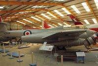 VZ608 - At Newark Air Museum in the UK
