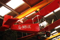 G-MBUE - At Newark Air Museum in the UK - by Terry Fletcher