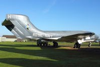 XJ560 @ X4WT - At Newark Air Museum in the UK