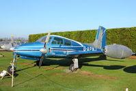 G-APNJ - At Newark Air Museum in the UK