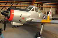 WV606 - At Newark Air Museum in the UK