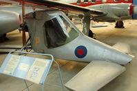 G-BKPG - At Newark Air Museum in the UK