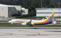 9Y-JMF @ FLL - Air Jamaica (Carribean) 737-800