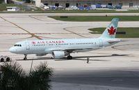 C-FZUB @ FLL - Air Canada A320