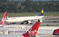 D-AIHH @ MCO - Lufthansa A340-600