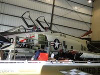 145310 @ F70 - Parked in Wings and Rotors Air Museum in hangar 7 and being restored - by Helicopterfriend