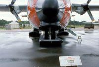 57-0493 @ EGVI - Lockheed C-130D Hercules of the USAF (NY ANG) at the 1979 International Air Tattoo, Greenham Common