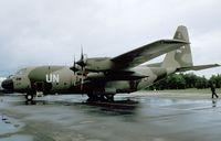 955 @ EGVI - Lockheed C-130H Hercules of the Luftforsvaret (Royal Norwegian Air Force) at the 1979 International Air Tattoo, Greenham Common