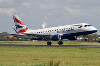 G-LCYF @ EHAM - British Airways EMB170 - by Andy Graf-VAP
