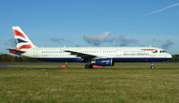 G-EUXF @ EGPH - Shuttle 8R Arrives at EDI From LHR - by Mike stanners