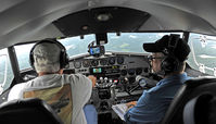 N2072 - Piloting N2072 into Peachtree City GA on a return from AV 2011 - by Rod Reilly