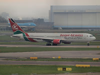 5Y-KQZ @ AMS - Taxi to the runway24 on Schiphol Airport - by Willem Goebel