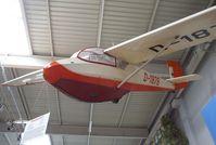 D-1876 - Schleicher KA-4 Rhönlerche II at the Auto & Technik Museum, Sinsheim - by Ingo Warnecke