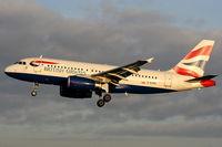 G-EUPS @ EGCC - British Airways - by Chris Hall