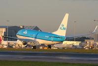 PH-BGX @ EGCC - KLM's newest B737, delivered 25-10-11 - by Chris Hall