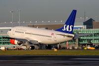 LN-BUG @ EGCC - SAS Scandinavian Airlines - by Chris Hall