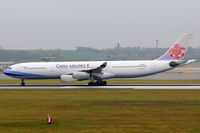 B-18805 @ VIE - China Airlines