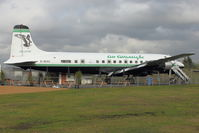 G-SIXC @ EGBE - Converted into the DC-6 Diner At Airbase Museum at Coventry Airport