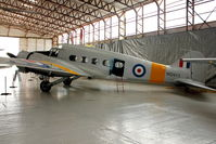 G-VROE @ EGBE - At Airbase Museum at Coventry Airport