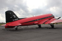 G-ANAF @ EGBE - At Airbase Museum at Coventry Airport