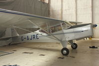 G-AJRE @ EGBE - At Airbase Museum at Coventry Airport