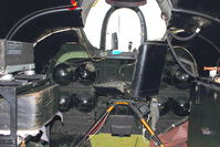 WR963 @ EGBE - Inside Shackleton nose At Airbase Museum at Coventry Airport