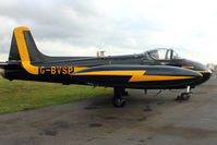 G-BVSP @ EGBE - At Airbase Museum at Coventry Airport