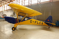 G-FLCA @ EGBE - At Airbase Museum at Coventry Airport - believed to be the only example of this type in Europe