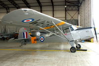 G-ASAJ @ EGBE - Serial WE569 - At Airbase Museum at Coventry Airport