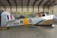 G-APJB @ EGBE - At Airbase Museum at Coventry Airport