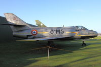 83 - Dassault Mystere IVA  code 8-MS at Newark Air Museum - by Terry Fletcher