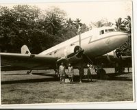 KN598 @ SAMO - TAKEN AT SAMOA 1957 - by CLIF COLLINS  4165108