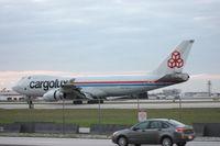 LX-TCV @ MIA - Cargolux 747