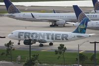 N210FR @ MCO - Frontier A320