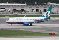 N312AT @ FLL - Air Tran 737