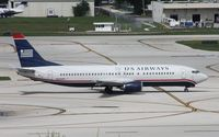 N444US @ FLL - US Airways 737