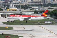 N451AV @ FLL - Avianca A320