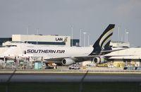 N758SA @ MIA - Southern Air 747-200