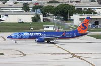 N815SY @ FLL - Sun Country 737