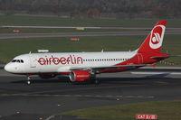 D-ABDQ @ EDDL - Air Berlin, Airbus A320-214, CN: 3121 - by Air-Micha
