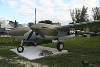 P38REPLICA @ MIA - Does anyone have any info on this plane in front of the 94th Aerosquadron Restaurant by Miami Int. Airport?