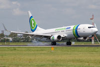 PH-HZE @ EHAM - Transavia 737-800 - by Andy Graf-VAP