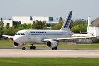 F-GRHH @ EGCC - Air France - by Chris Hall