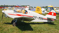 OY-MIN @ ESME - At EAA FlyIn - by Roger Andreasson
