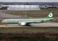 F-WWKE @ LFBO - C/n 1274 - For Eva Airways - by Shunn311